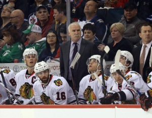 NHL: Chicago Blackhawks at Winnipeg Jets